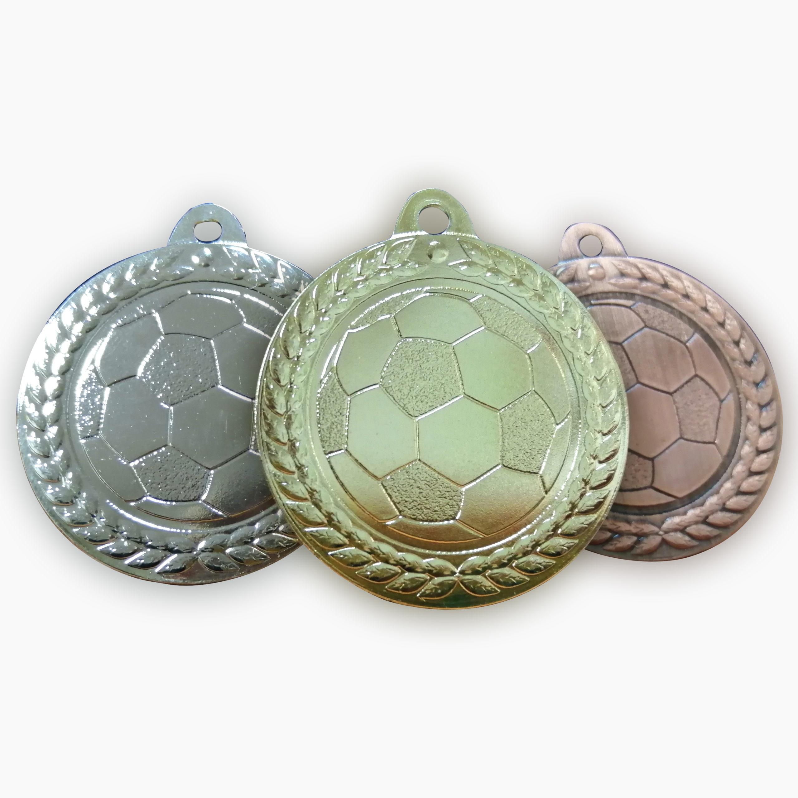 Медаль футбольной тематики